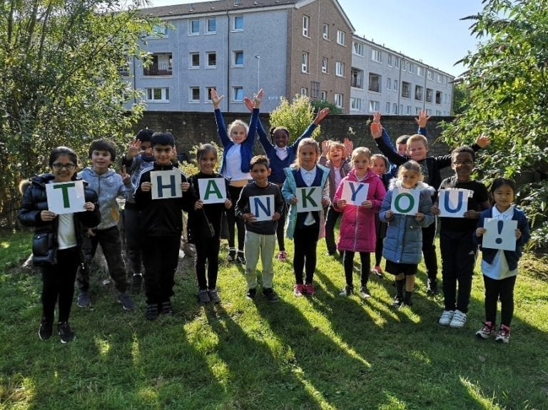 NRS Group Blackfriars Primary Thank You